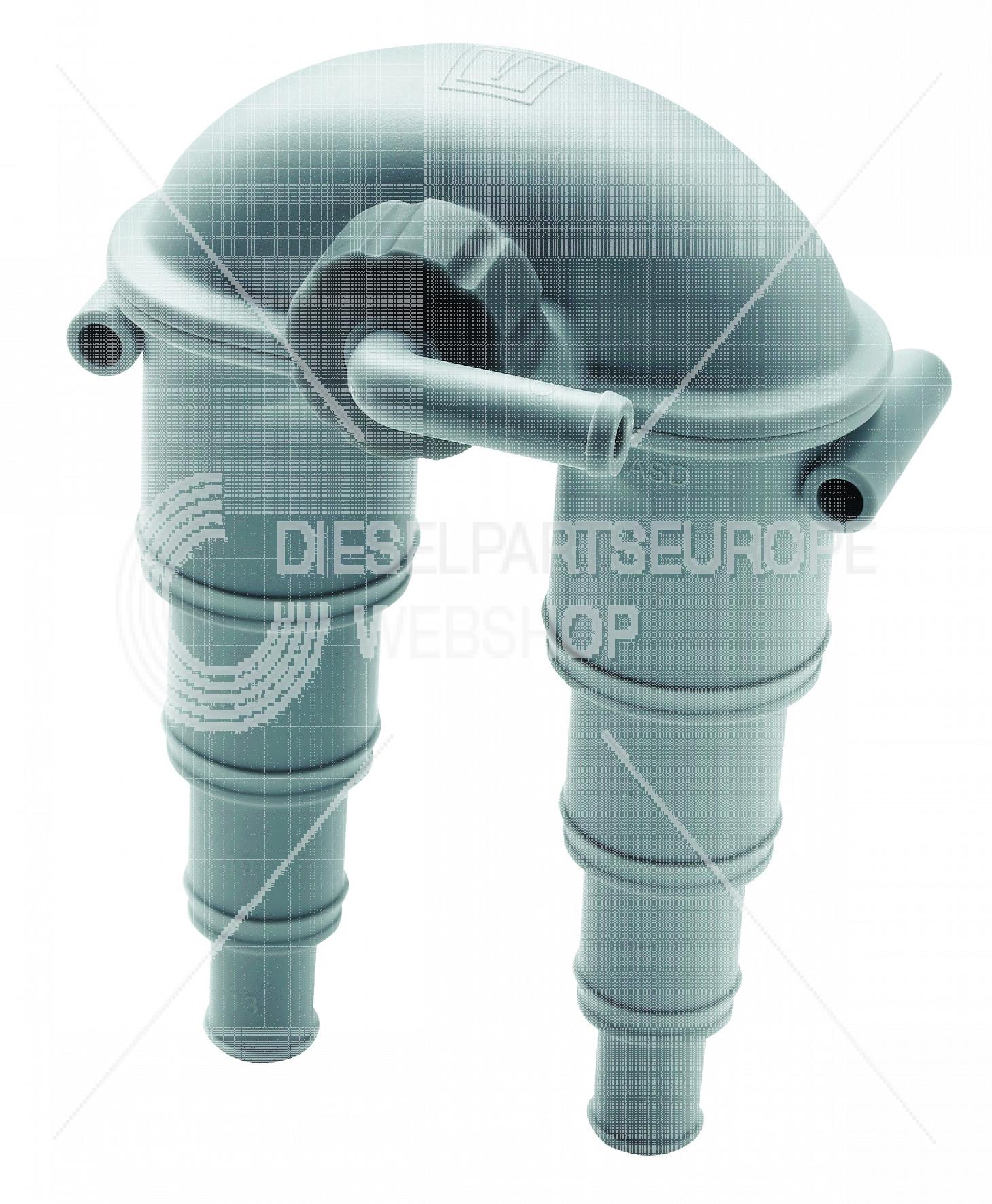 Beluchter type ASD 13/19/25/32 mm, met klep