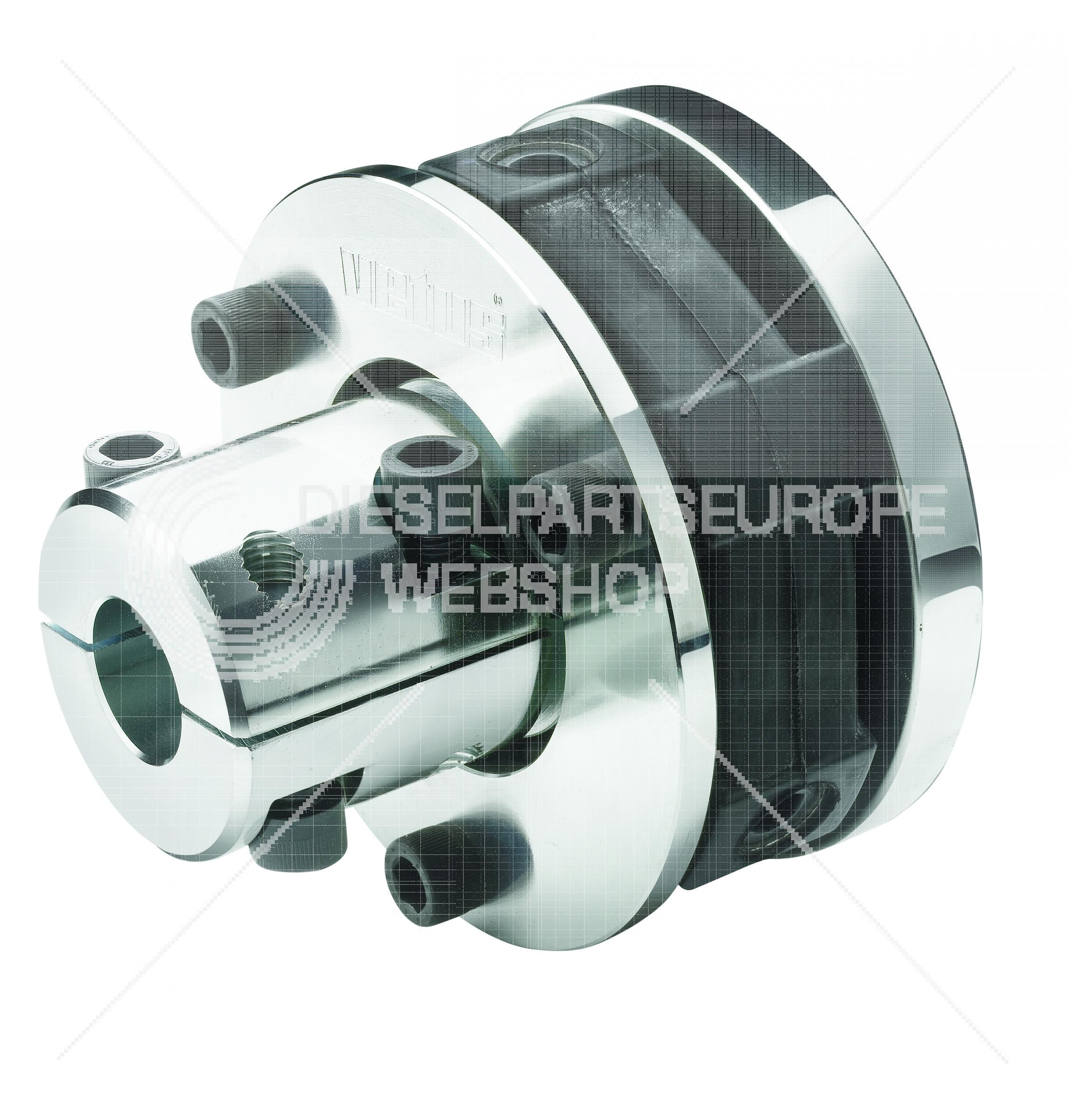 Type Bullflex 16, voor asdiameter 45 mm