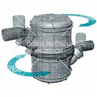 Waterlock, kunststof type NLP75